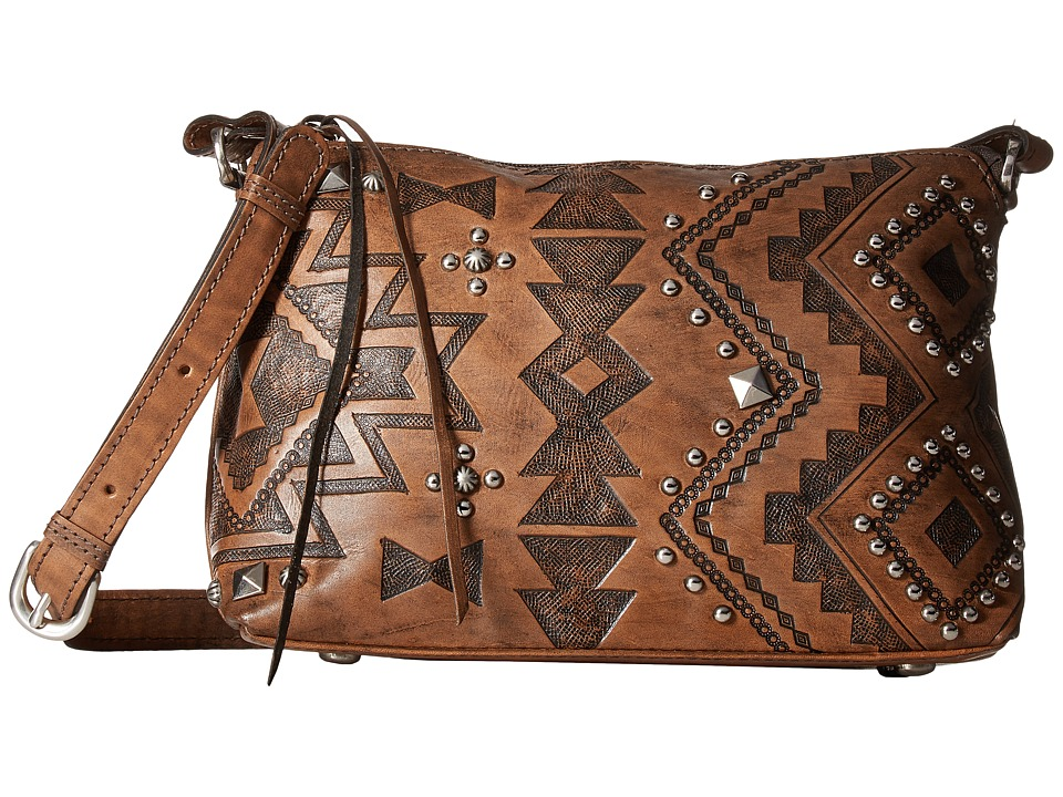 American West - Nomad Heart Zip Top Crossbody