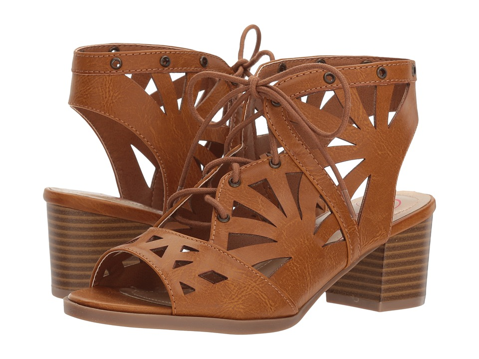 Jessica Simpson Kids - Carly (Little Kid/Big Kid) (Light Tan Burnished Smooth) Girls Shoes