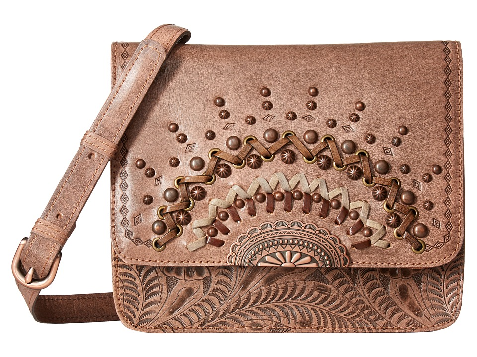 American West - Bella Luna Multi-Compartment Crossbody Flap Bag