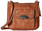 American West American West Guns and Roses Crossbody w/ Secret Compartment