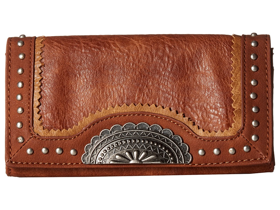 American West - Guns And Roses Flap Wallet