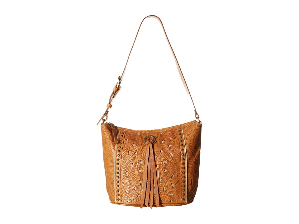 American West - Hill Country Zip Top Bucket Tote