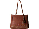 American West American West Guns And Roses Zip Top Tote w/ Secret Compartment