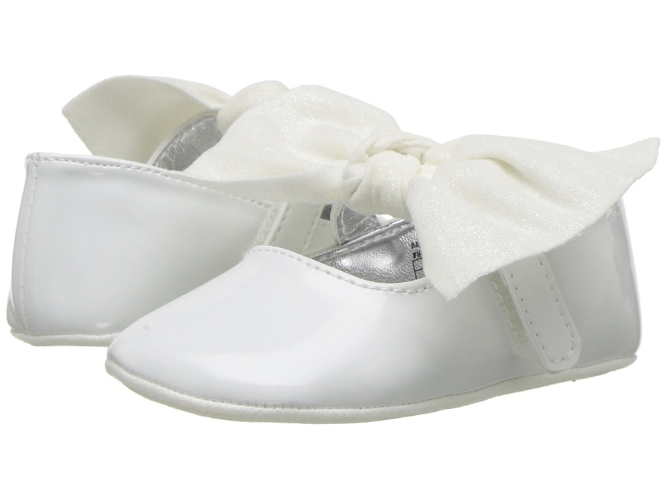 Kenneth Cole Reaction Kids - Rose Tie (Infant/Toddler) (White) Girls Shoes