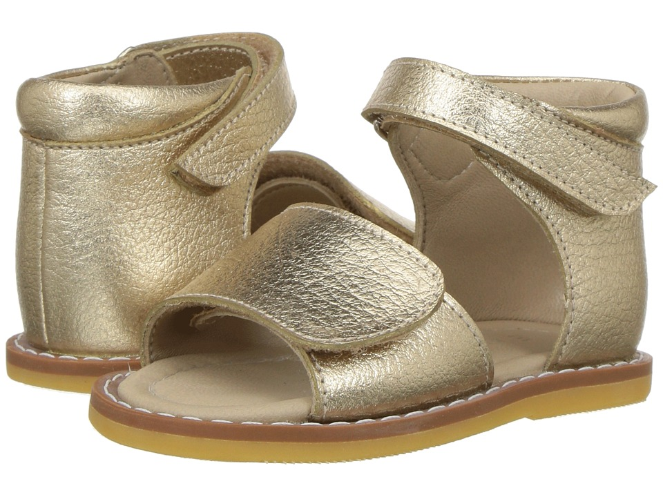 Elephantito - Claire Sandal (Toddler) (Gold) Girls Shoes