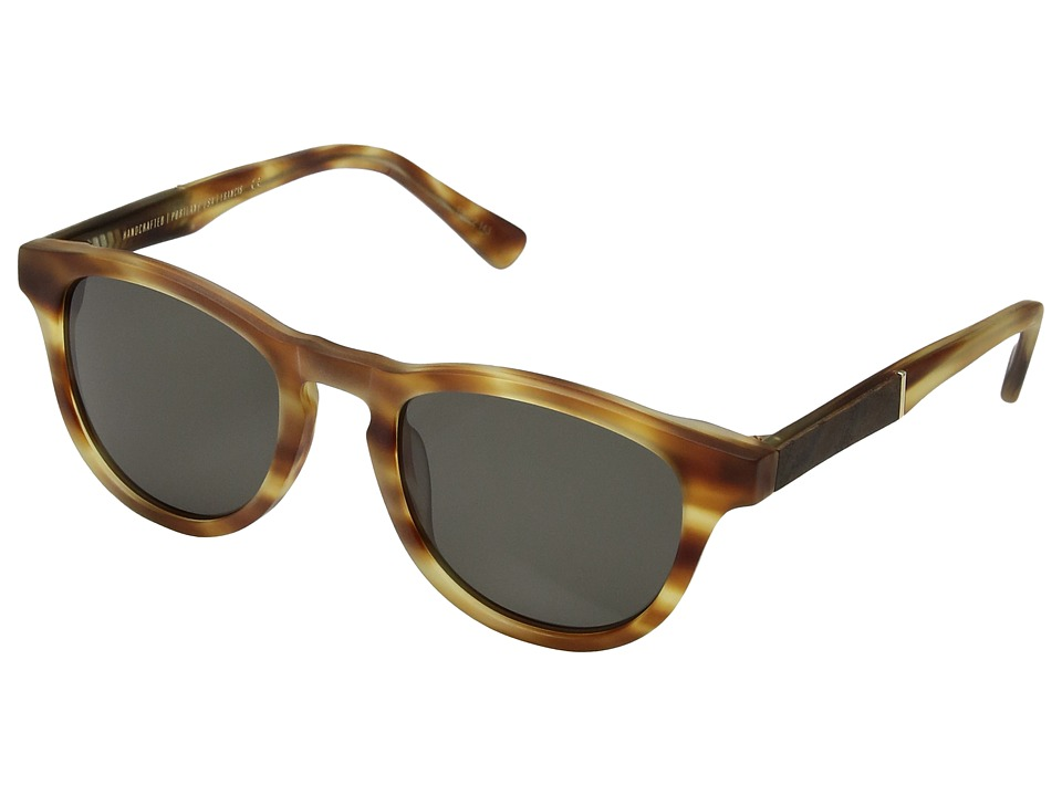 Shwood Francis (Matte Honey/Elm Burl/G15) Sport Sunglasses