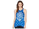 Rock and Roll Cowgirl Loose Fit Tank Top 49-5549