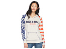 Rock and Roll Cowgirl Long Sleeve Pullover Hoodie 48H5592
