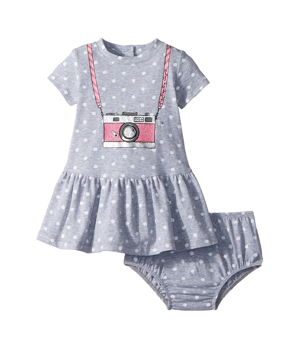 Kate Spade New York Kids - Camera Dress (Infant) (Heather Grey) Girls Dress