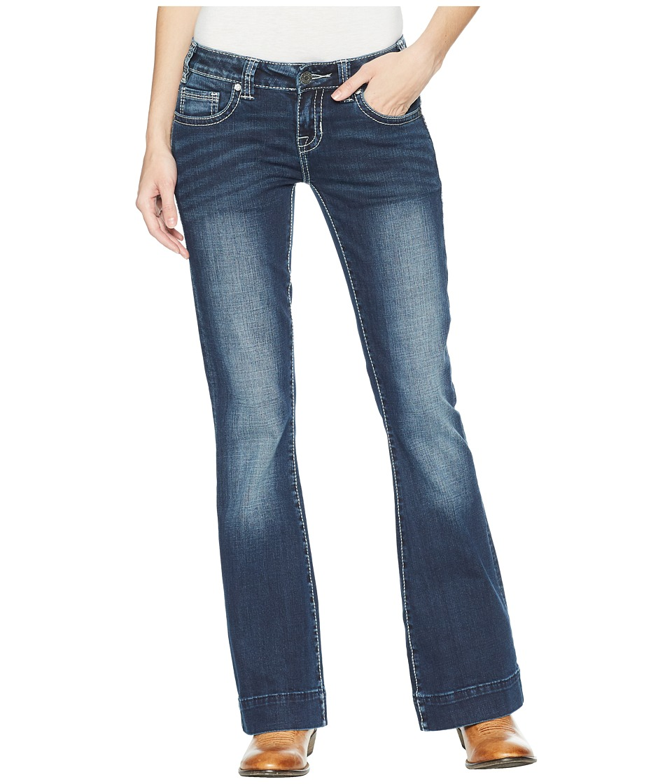 Rock and Roll Cowgirl - Trousers Bootcut in Dark Vintage W8-5099 (Dark Vintage) Womens Jeans