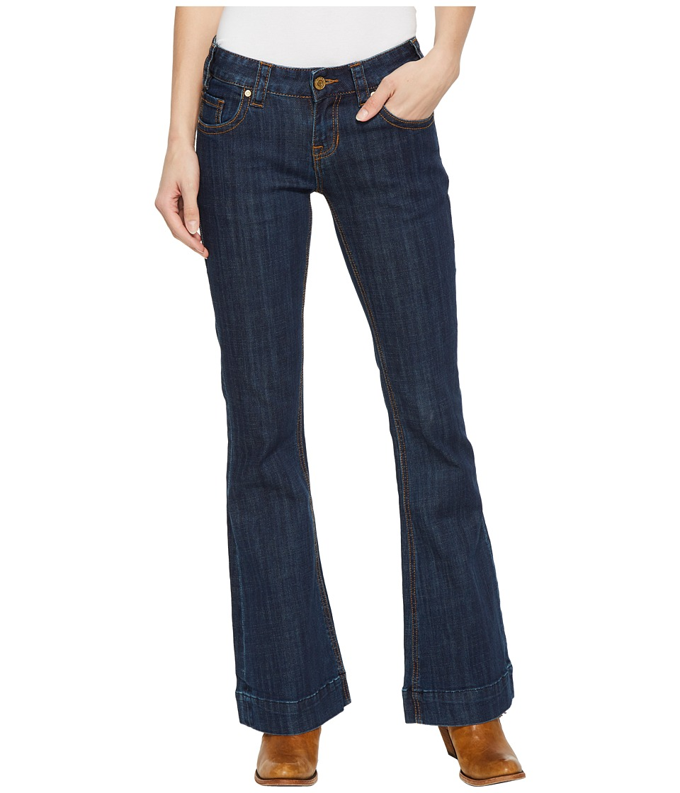Rock and Roll Cowgirl - Trousers Bootcut in Dark Wash W8-5098 (Dark Wash) Womens Jeans