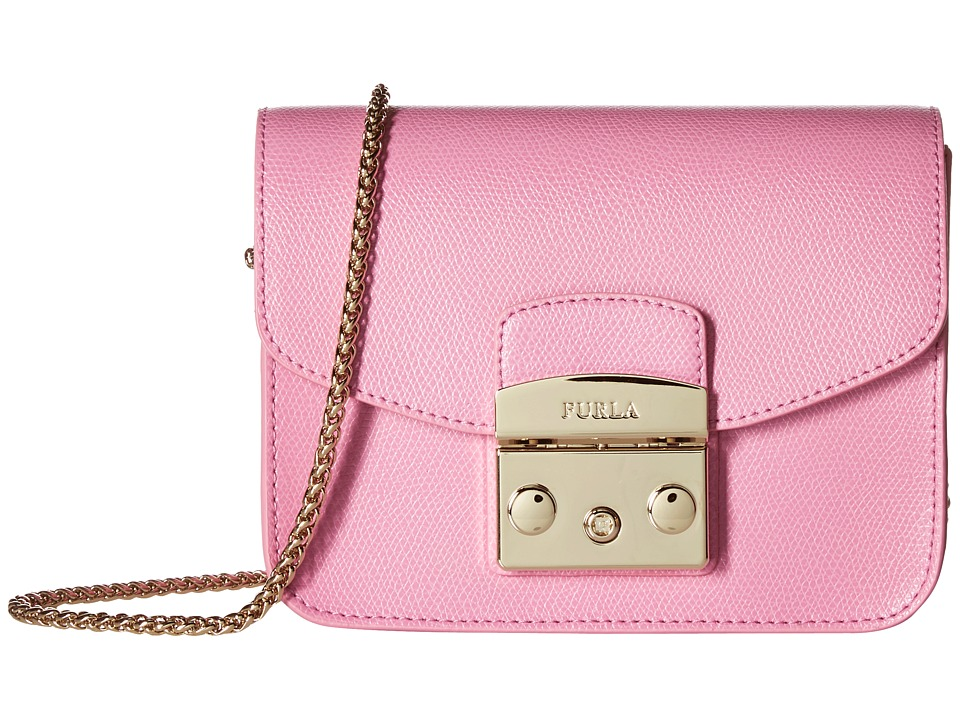 Furla - Metropolis Mini Crossbody (Orchidea) Cross Body Handbags