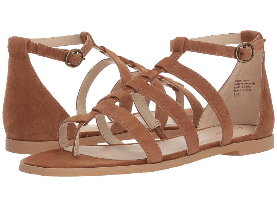 Seychelles - Contribution (Tan Suede) Womens Sandals