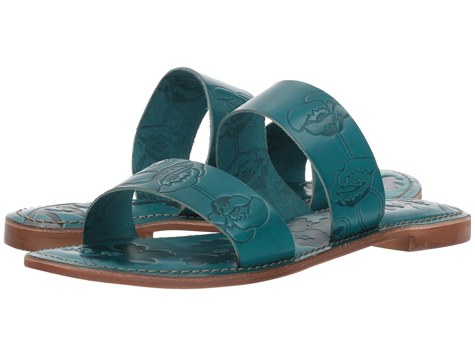 Seychelles Sheroes (Turquoise Leather) Women