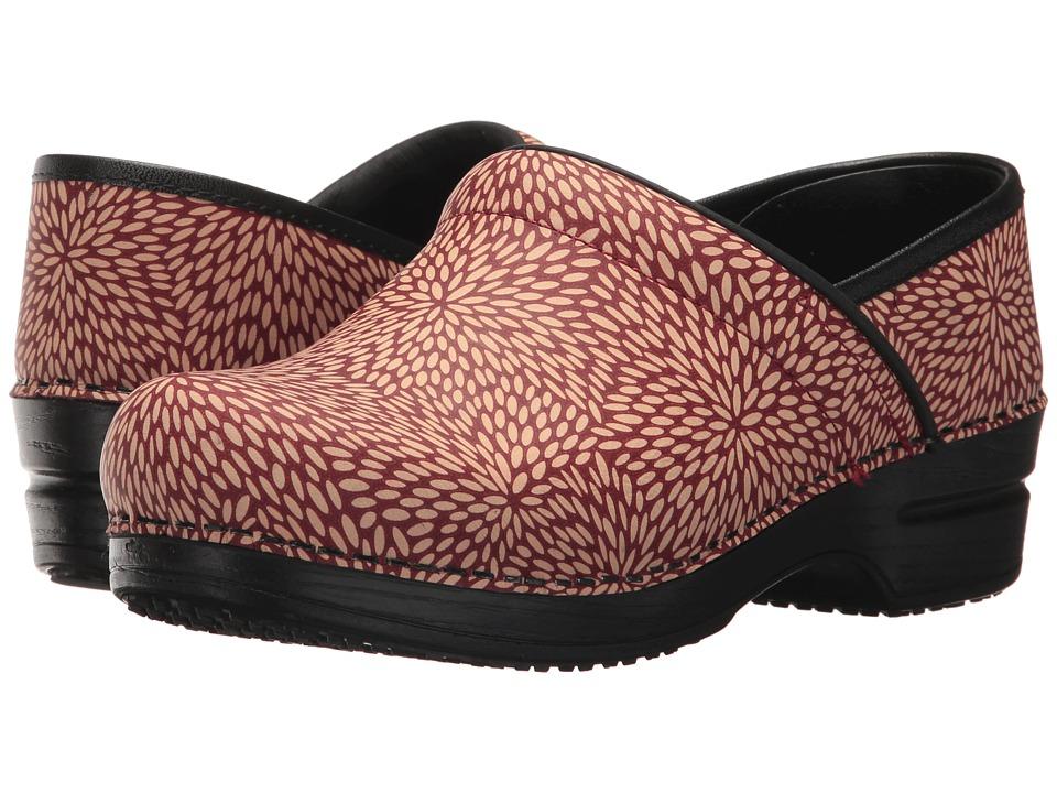 Sanita Smart Step Professional Perennial (Red) Clogs