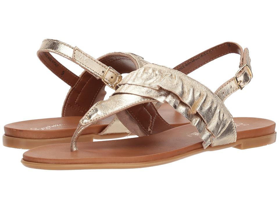 Seychelles Seclusion (Gold) Women's Sandals