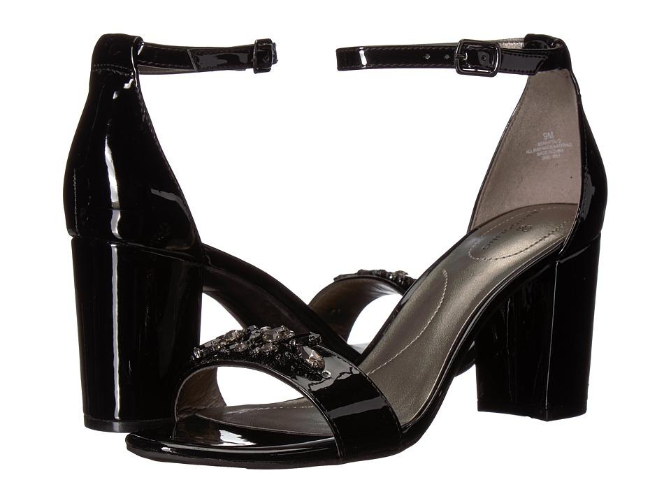Bandolino Anatolio (Black Sleek Patent PU) Women