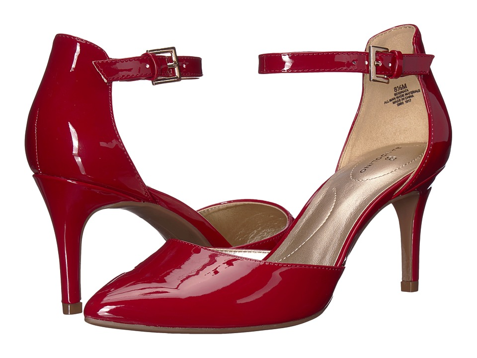 Bandolino Ginata (Rosy Red Sleek Patent PU) Sandals