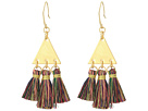 Rebecca Minkoff Tri Tassel Chandelier Earrings