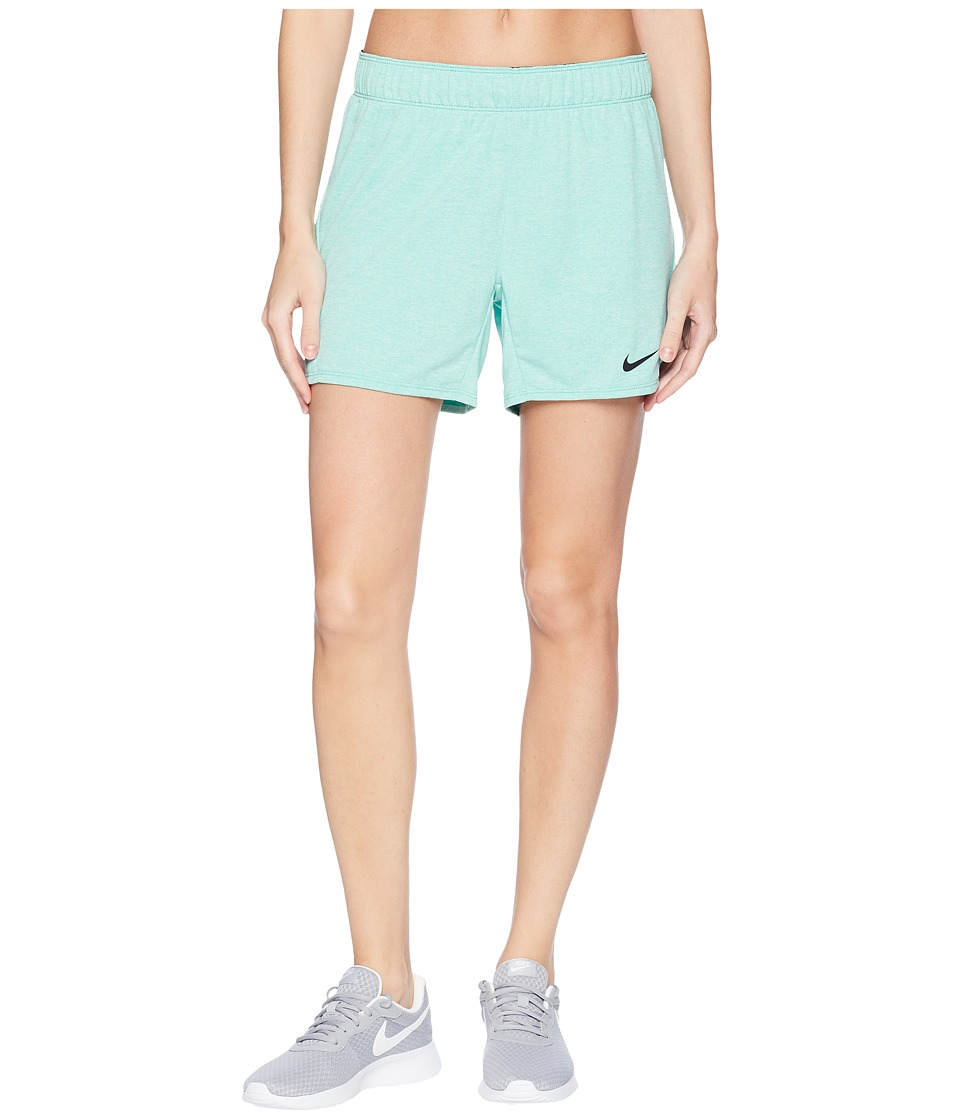 Nike - Flex Attack Training Short (Light Menta/Heather/Black) Womens Shorts