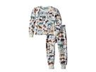 BedHead Kids BedHead Kids - Booboo Long Sleeve Long Pants Set (Infant)
