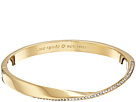 Kate Spade New York Do The Twist Paved Hinged Bangle Bracelet