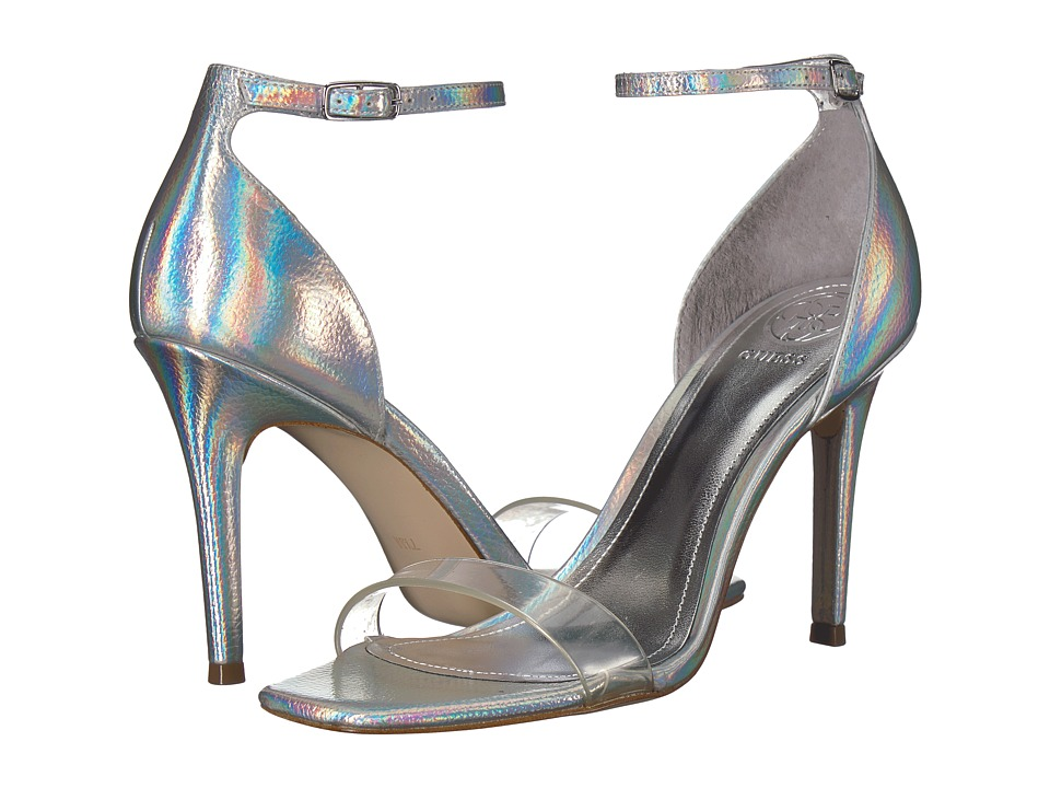 GUESS - Celie (Silver/Clear Synthetic) High Heels