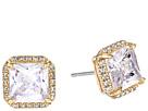 Kate Spade New York Save The Date Pave Princess Cut Stud Earrings