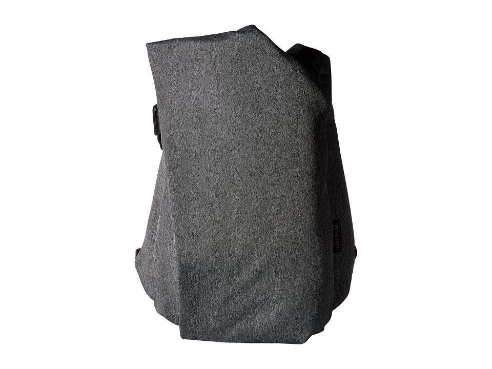 cote&ciel - Isar Large Eco Yarn Backpack (Black Melange) Backpack Bags