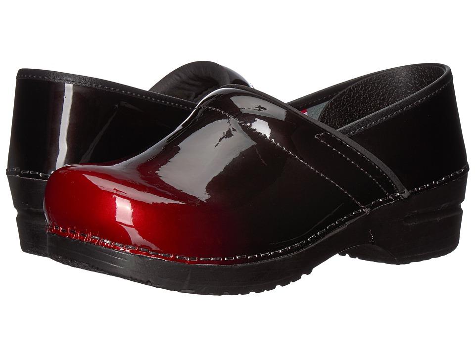 Sanita Original Professional Milan (Red) Clogs