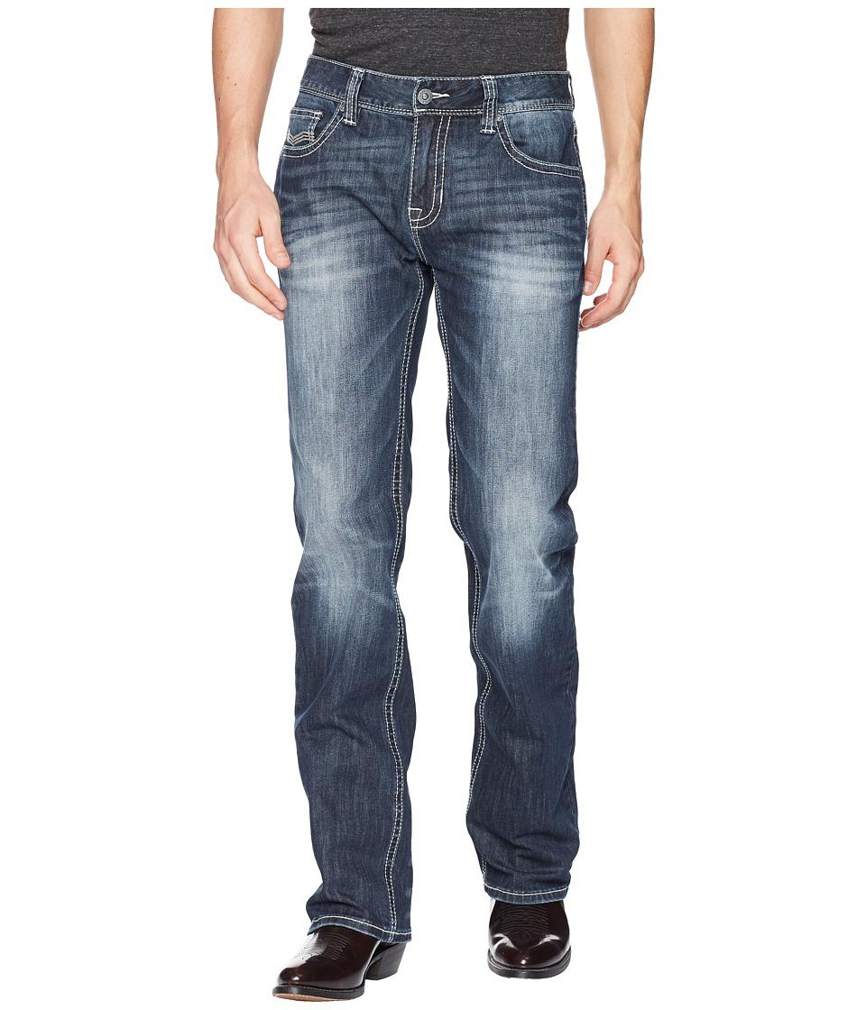 Rock and Roll Cowboy - Reflex Pistol in Dark Wash M1P5132 (Dark Wash) Mens Jeans
