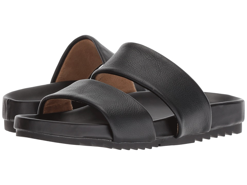 Naturalizer Amabella (Black Pebble Leather) Sandals