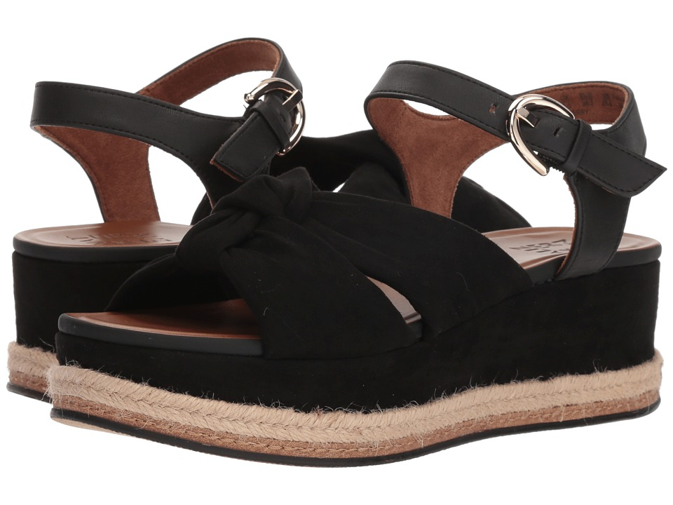 Naturalizer Berry (Black Microfiber/Synthetic) Sandals