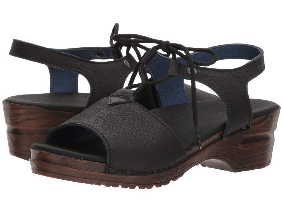 Sanita - Original Olivia (Black) Women's Sandals