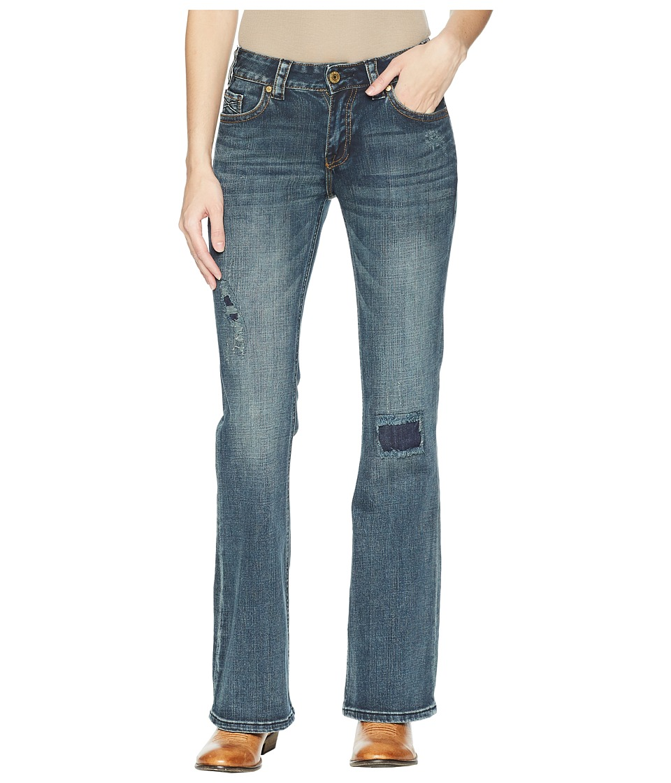 Rock and Roll Cowgirl - Mid-Rise Bootcut in Dark Vintage W1F5084 (Dark Vintage) Womens Jeans