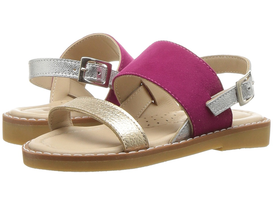 Elephantito Paloma Sandal (Toddler/Little Kid/Big Kid) (Fuchsia) Girls Shoes