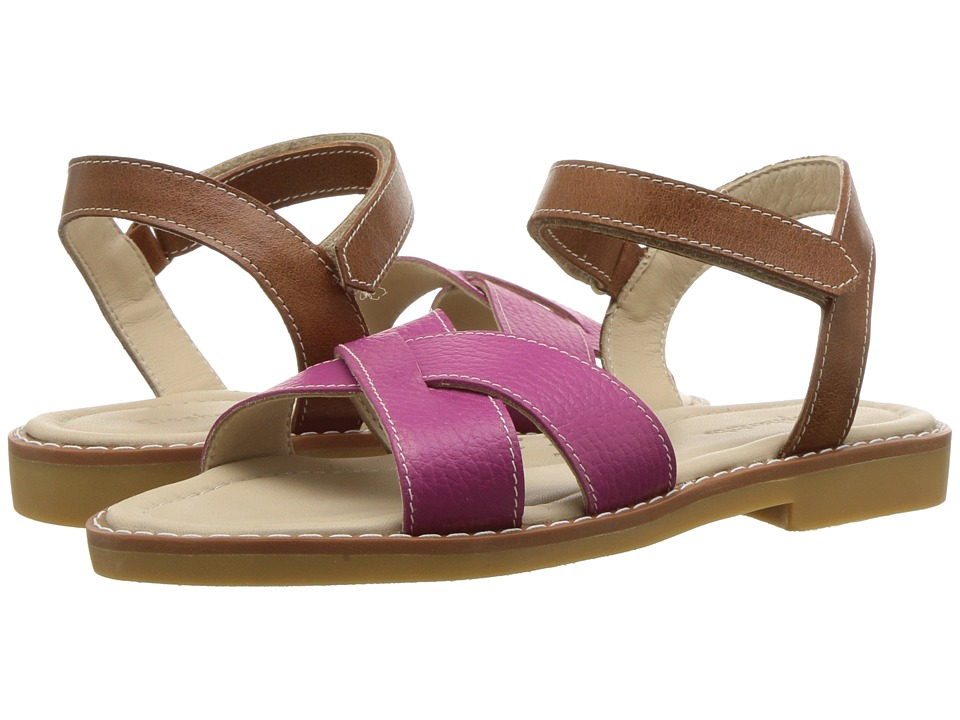 Elephantito Criss Sandal (Toddler/Little Kid/Big Kid) (Fuchsia) Girls Shoes
