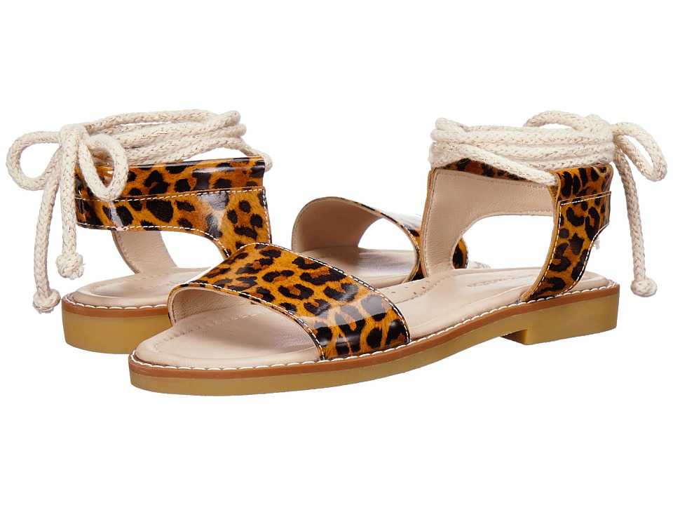 Elephantito - India Sandal (Toddler/Little Kid/Big Kid) (Patent Leopard) Girls Shoes