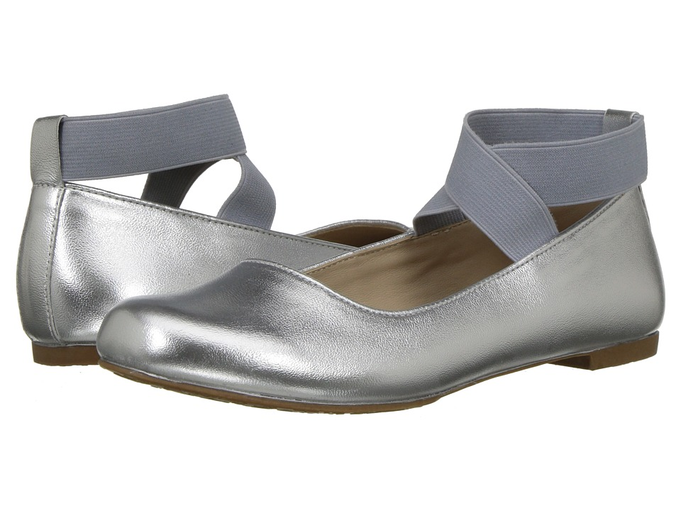 Elephantito Melissa Flats (Toddler/Little Kid/Big Kid) (Silver) Girls Shoes