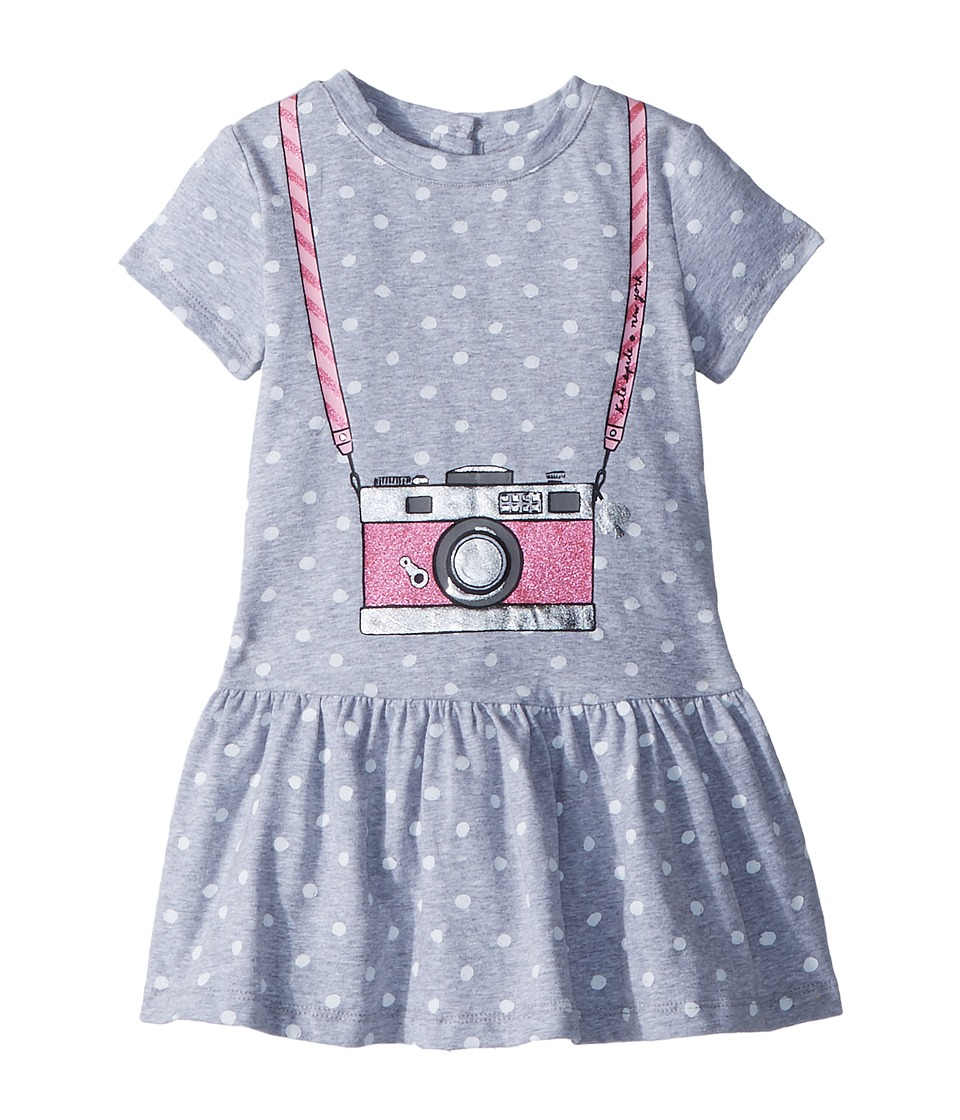 Kate Spade New York Kids - Camera Dress (Toddler/Little Kids) (Heather Grey) Girls Dress