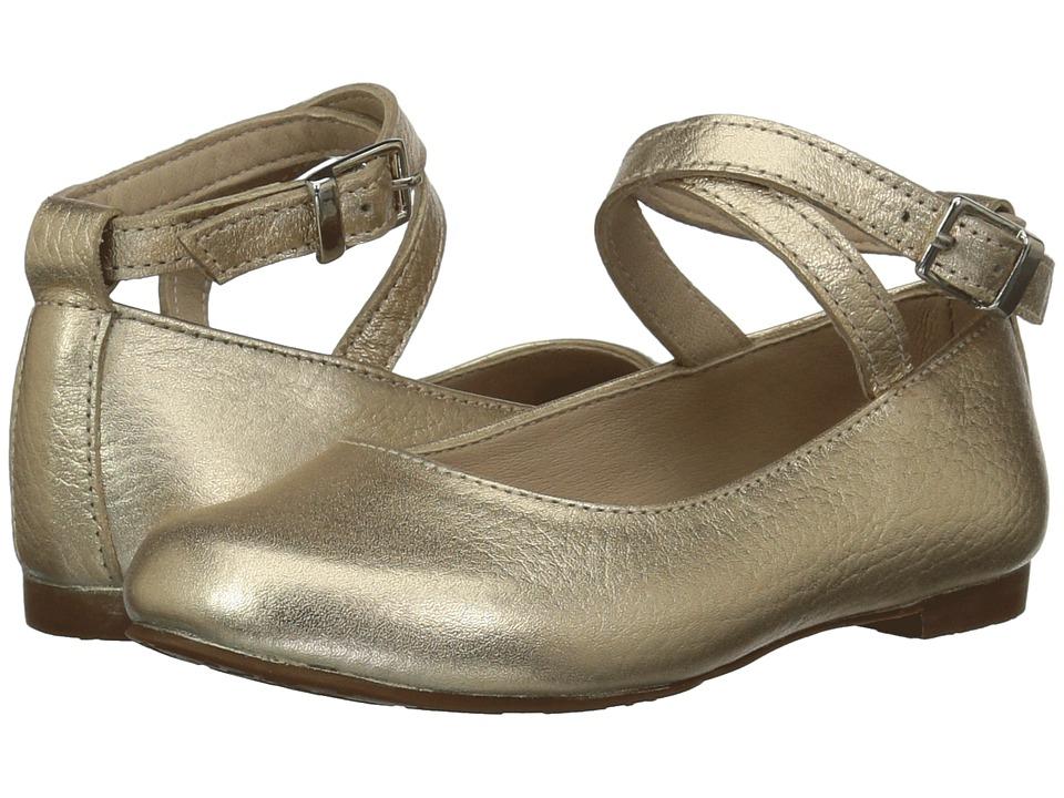 Elephantito French Ballet Flat (Toddler/Little Kid/Big Kid) (Gold) Girl