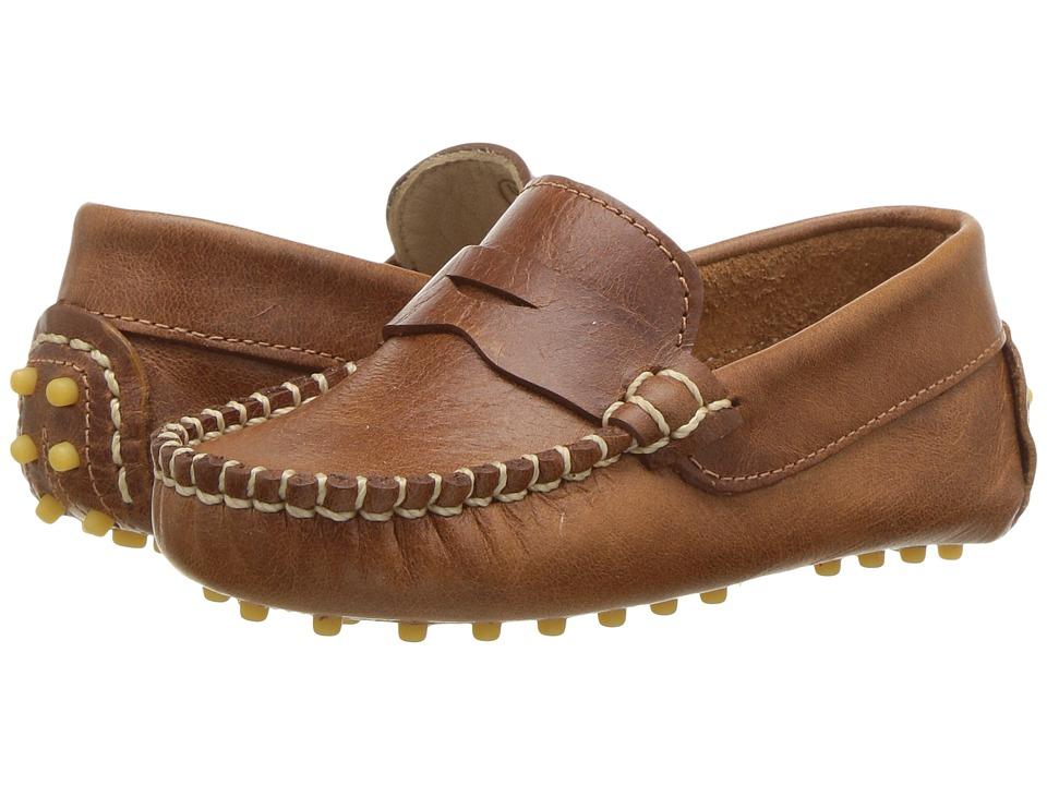 Elephantito - Logan (Toddler) (Natural) Boys Shoes