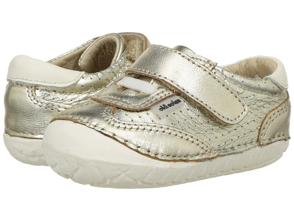 Old Soles Sporty Pave (Infant/Toddler) (Gold/White) Girls Shoes
