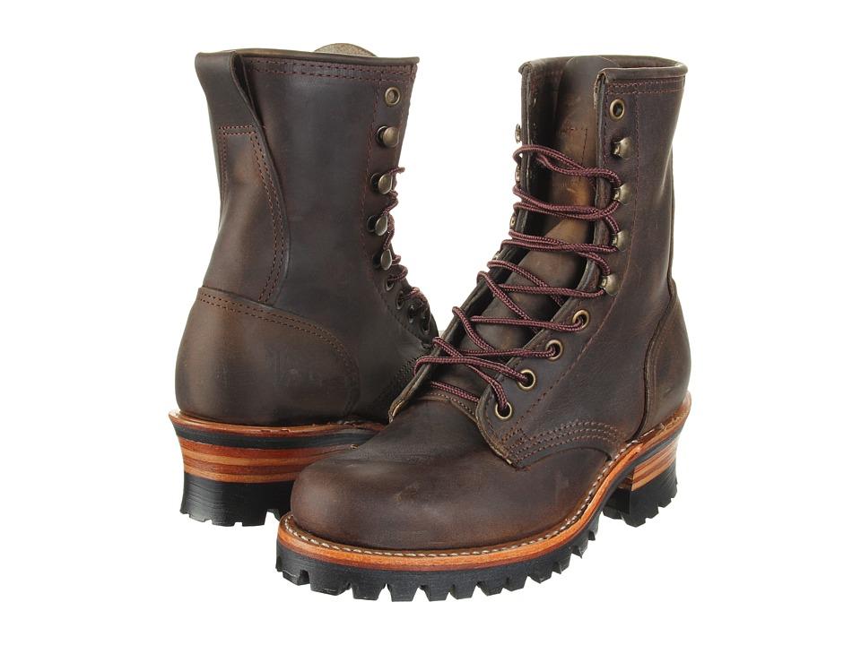 Frye Logger 8G W (Tan) Women's Boots