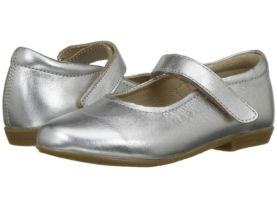 Image of Old Soles - Brule Sista (Toddler/Little Kid) (Silver) Girl's Shoes