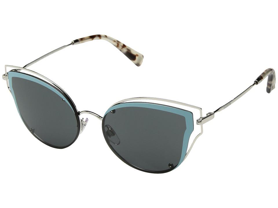 Valentino VA 2015 (Silver/Grey/Azure) Fashion Sunglasses