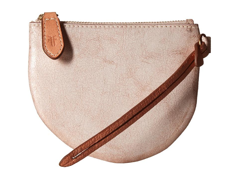 Frye - Zip Leash Pocket (Rose Gold Metallic) Wallet