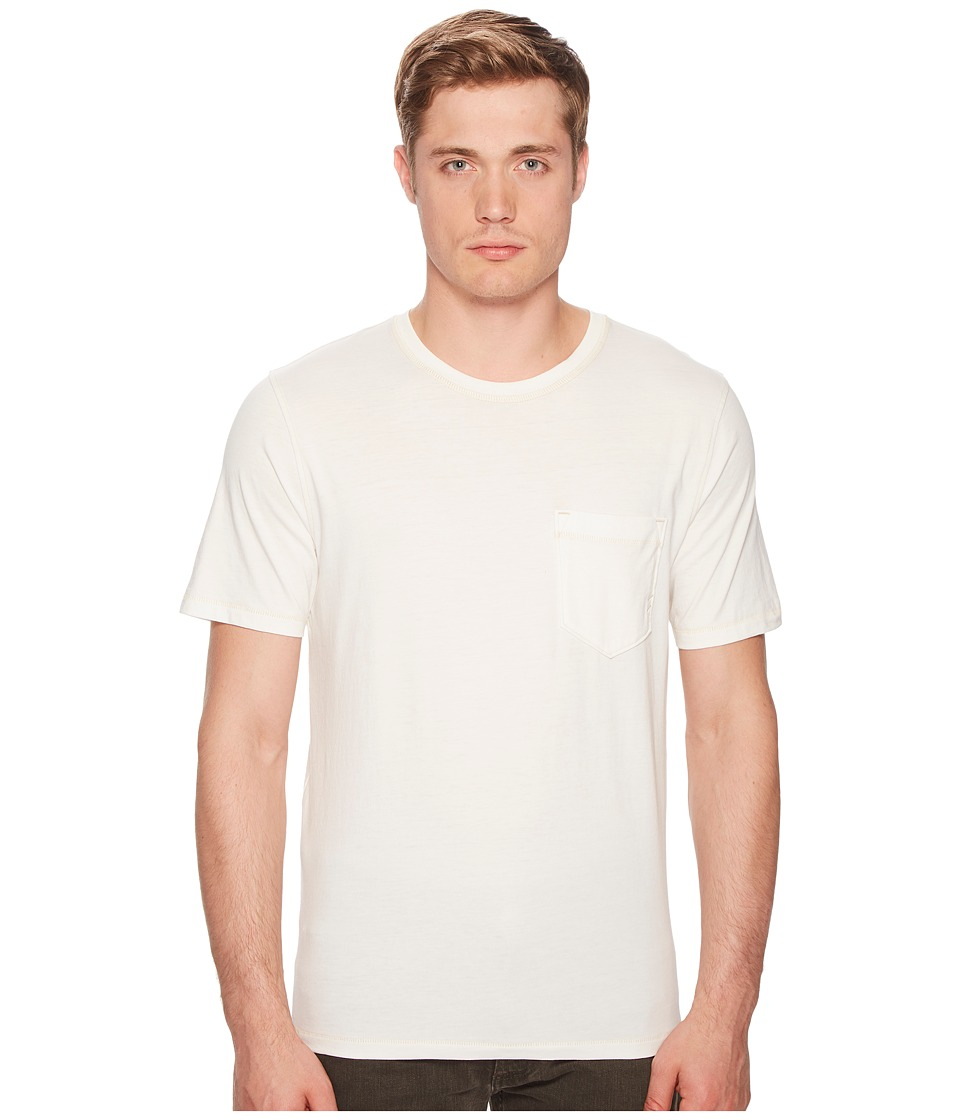Billy Reid - Washed Tee (White) Mens T Shirt