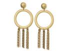 Lucky Brand O Tassel Earrings