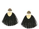 Lucky Brand Black Fringe Earrings